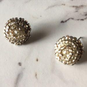 Jewelry - 🍊Embellished Bead Earrings